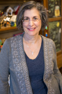 Minneapolis craft shop owner Lisa MacMartin